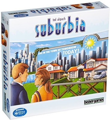 Bezier Games Suburbia Board Game