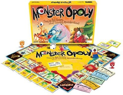 Late for the Sky Monster-opoly Board Game
