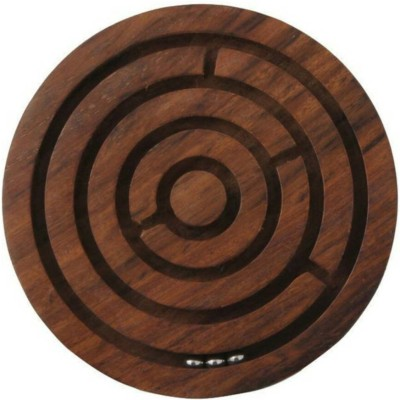 EtsiBitsi Wooden Ball-in-a-maze Puzzles … Board Game