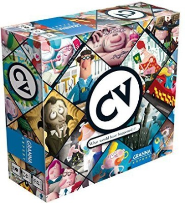 Granna Cv A Of Building Characters Board Game