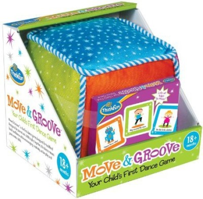 Think Fun Move And Groove Board Game