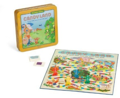 Winning Solutions Candyland Deluxe In Classic Nostalgia Collector,S Tin Board Game