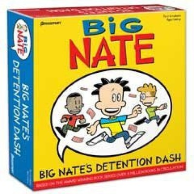 Pressman Toy Big Nate,S Detention Dash Board Game