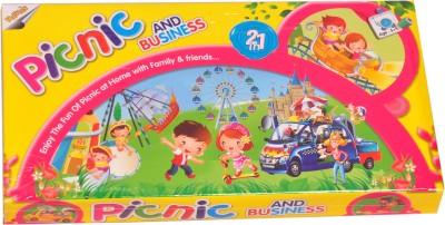 Ratnas Picnic N Business 2 in1 Board Game