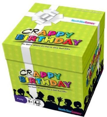 North Star Games Crappy Birthday Board Game