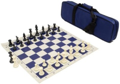 Wholesale Chess Heavy Tournament Triple Weighted Chess Set Combo Navy Blue Board Game