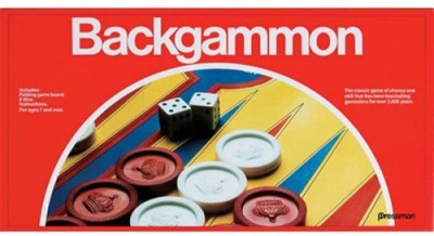 Pressman Economy Backgammon Board Game