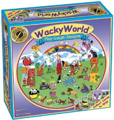 Game Development Group Wacky World Board Game
