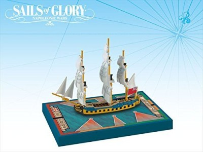 Ares Games Sails Of Glory Ship Pack Hms Cleopatra 1779 Board Game