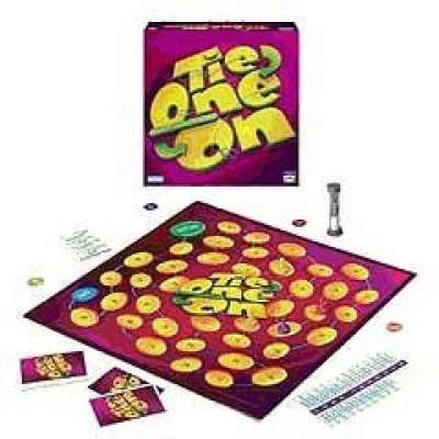Milton Bradley Tie One On Board Game