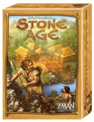 Z-Man Games Stone Age Board Game