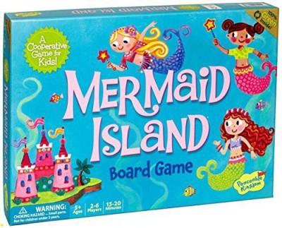 Peaceable Kingdom Mermaid Island Cooperative For Kids Board Game