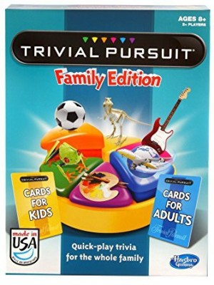 Hasbro Trivial Pursuit Family Edition Game Board Game
