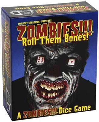 Twilight Creations Zombies Zombies Roll Them Bones Board Game
