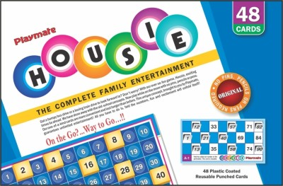 Playmate Housie Big (48 Cards) Board Game