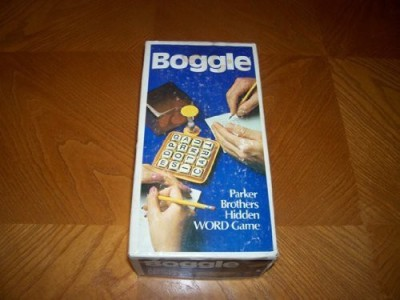 Boggle 3 Minute Word 1976 Edition Board Game