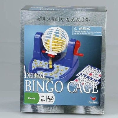 Cardinal Games Cage Bingo Board Game