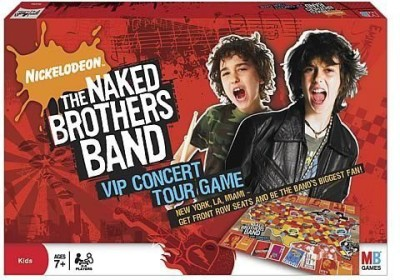 Naked Brothers Band VIP Concert Tour Board Game