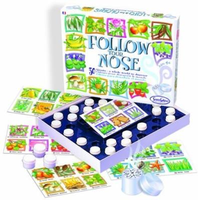 Sentosphere USA Follow Your Nose Bingo Board Game