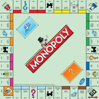 Hasbro Monopoly Replacement Board Board Game
