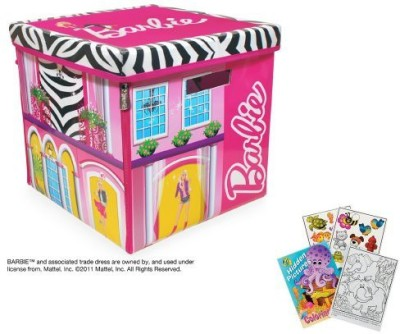 Neat-Oh Neat Oh Zip Bin Barbie Zipbin Dream House Box Playset Board Game