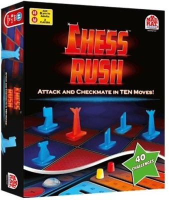 MadRat Games Chess Rush Board Game