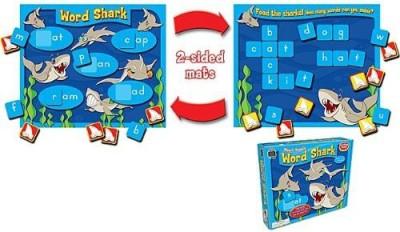 Teacher Created Resources Word Shark Short Vowels (7805) Board Game