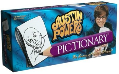 USAopoly Austin Powers Pictionary Board Game