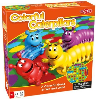 Tactic Games US colourful caterpillars Board Game