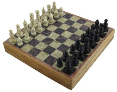 Leadoff Rajasthan Stone Art Unique Chess Sets And Board Game