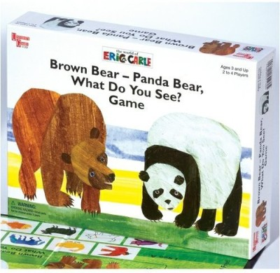 University Games Brown Bearpanda Bearwhat Do You See? Board Game