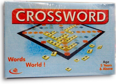 Shree Creations Crossword Game of Scrabble Board Game