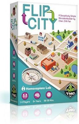 Tasty Minstrel Flip City Board Game