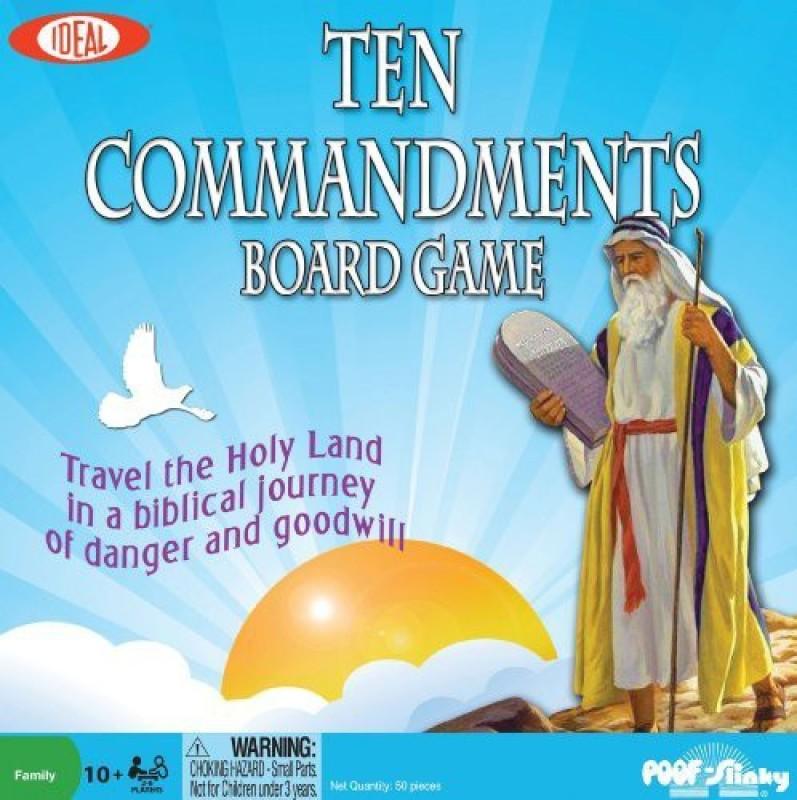 Ideal Ten Commandments Board Game