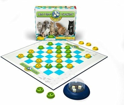 Madd Capp Checkers Cat Lovers Edition Board Game