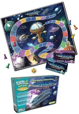 Teacher Created Resources Space Voyage Grades 45 (7824) Board Game