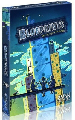 Z-Man Games blueprints Board Game