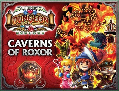 Soda Pop Miniatures. Super Dungeon Explore Caverns Of Roxor Board Game