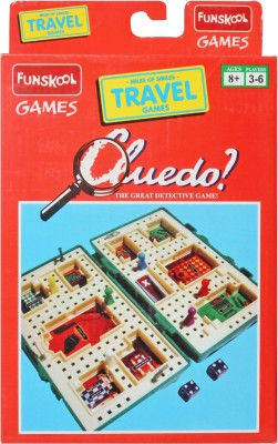 Funskool Travel Cluedo-Domestic Board Game