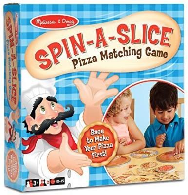 Melissa & Doug Spinaslice Pizza Board Game