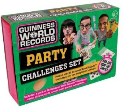 Play Visions Guinness World Record Party Challenge Set Board Game