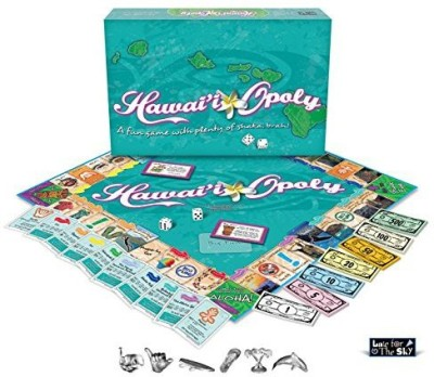 Late for the Sky hawaiiopoly Board Game