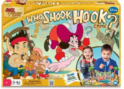 Wonder Forge Jake And The Never Land Pirates Who Shook Hook Adventure Board Game
