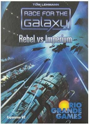 Rio Grande Games Race For The Galaxy Rebel Vs Imperium Board Game