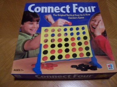 Milton Bradley Connect 4 2002 Edition Board Game