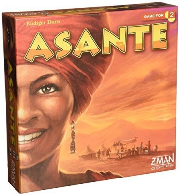Z-Man Games Asante Board Game