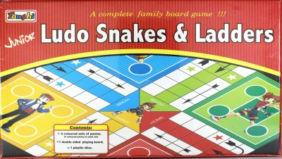 Tanshi Junior Ludo Snakes & Ladders Board Game
