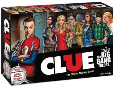 USAopoly Clue The Big Bang Theory Board Game