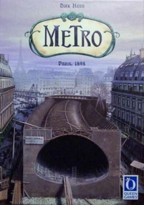 Rio Grande Games Metro Board Game