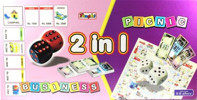 Tanshi 2 in 1 Business & Picnic Board Game
